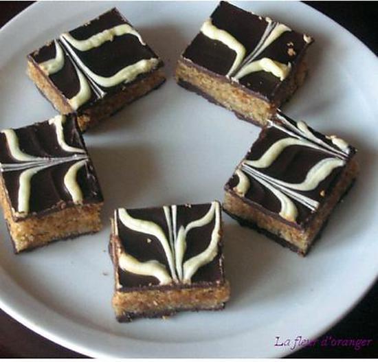 Patisserie orientale chocolat cacahuete