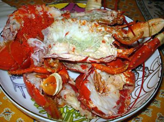 Recette de homard grill - Recette homard grille ...