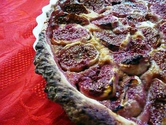 recette Tarte aux figues fraîches