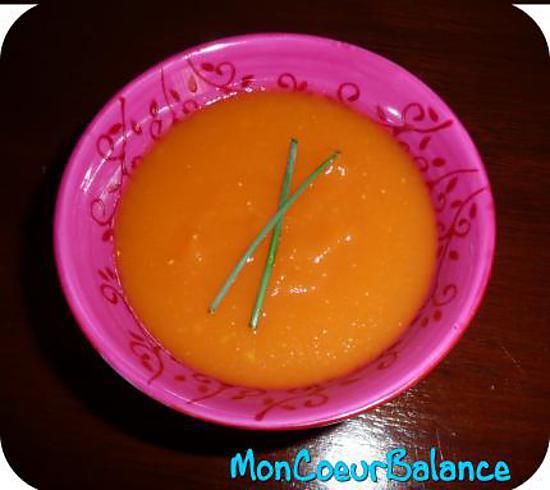 Favori Recette de Soupe tomates carottes (weight watchers propoints) QW23