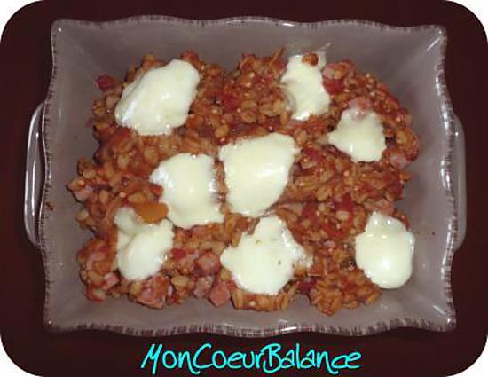 Recette De Gratin D Ebly Aux Tomates Aubergine Et Mozzarella