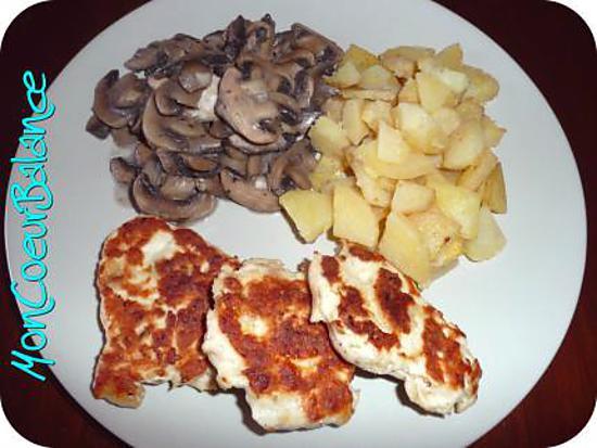 recette Tendresse de poulet (weight watchers propoints)