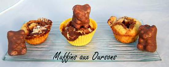 recette Ooo Muffins aux Oursons ooO