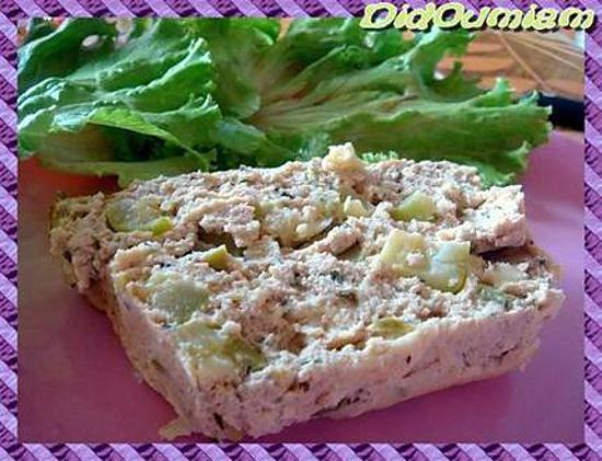 recette de terrine de thon aux courgettes. Black Bedroom Furniture Sets. Home Design Ideas