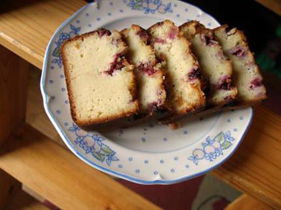 recette Cake Amandes, Ricotta & Framboises d'Eryn