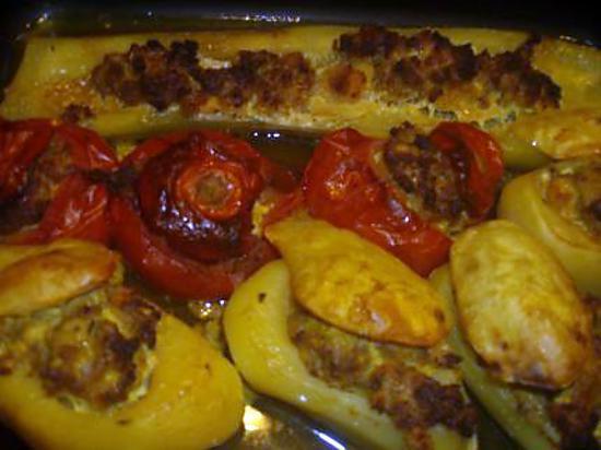 recette Mes farcis au curry et cumin