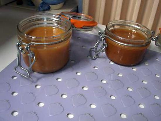 recette Sauce caramel à la fleur de sel d'Eryn