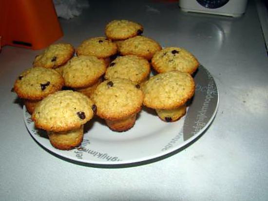 recette muffins pépite de chocolat
