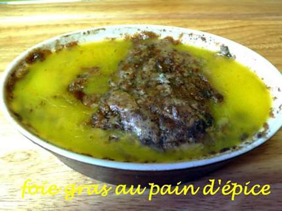 recette foie gras au pain d'épices