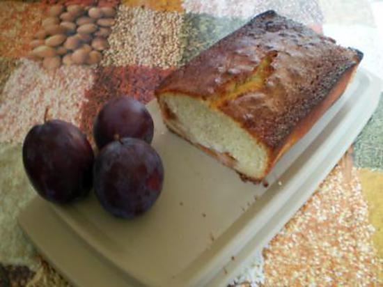 recette cake aux prunes