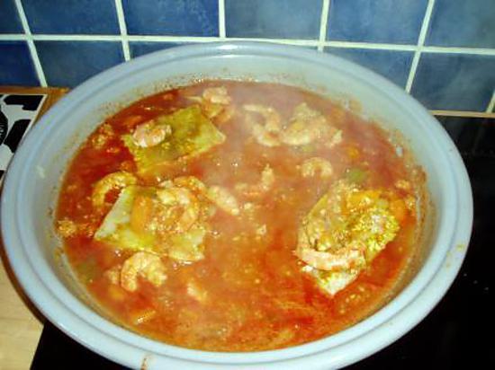 recette soupe aux fruits de mer