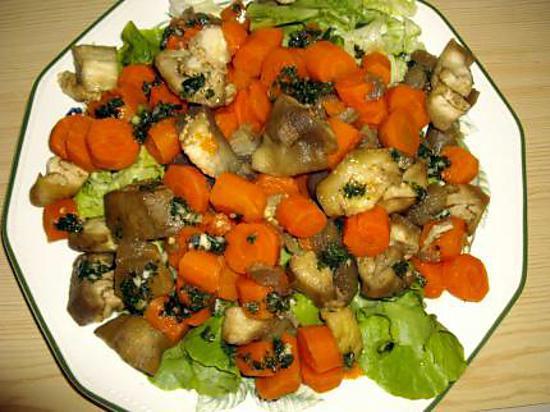 Salade végétarienne au pistou