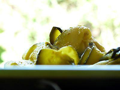 recette Wok de courgettes aux épices et citron