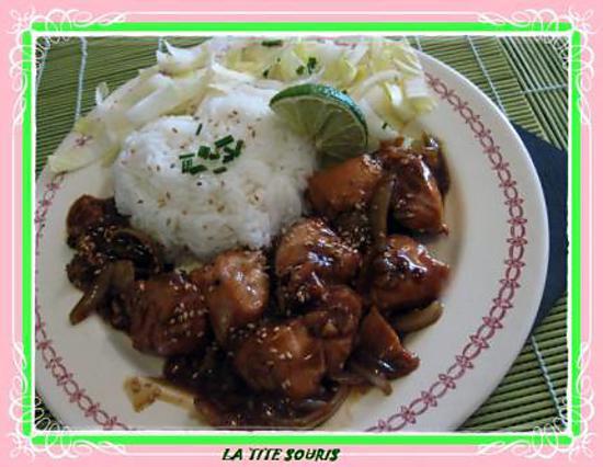 recette saumon a la sauce yakitori et au miel