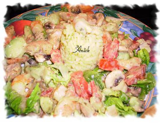 """recette salade automnale """"minceur"""""""