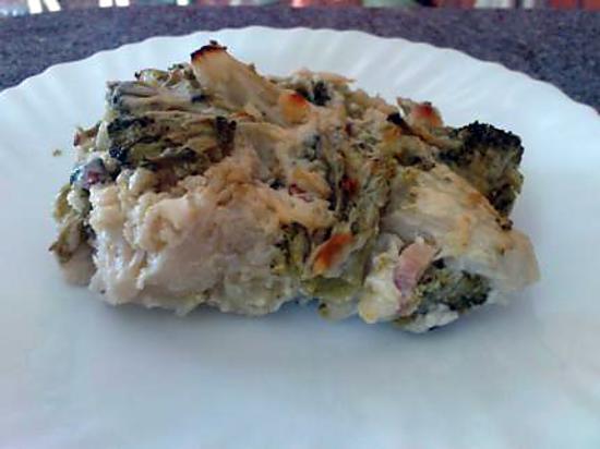 recette gratin aux deux légumes