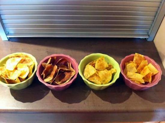 Recette de chips sans mati re grasse si c 39 est possible - Cuisine sans matiere grasse ...