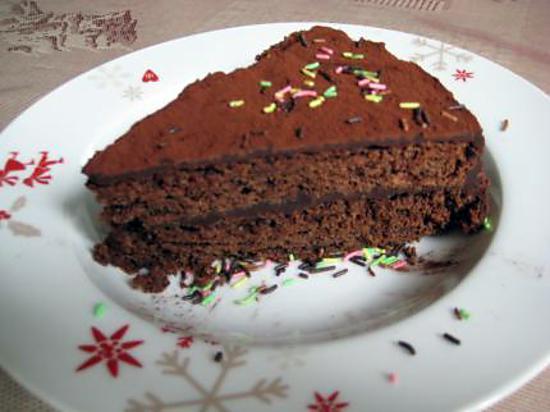 recette Gateau au chocolat de maman