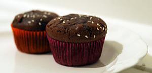 recette Fondants au chocolat et aux graines de courge