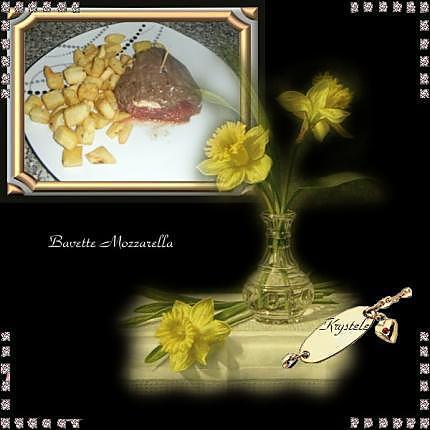 recette Bavette Mozzarella