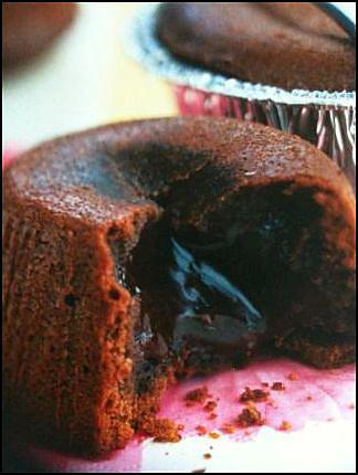 recette Mi-cuits au chocolat