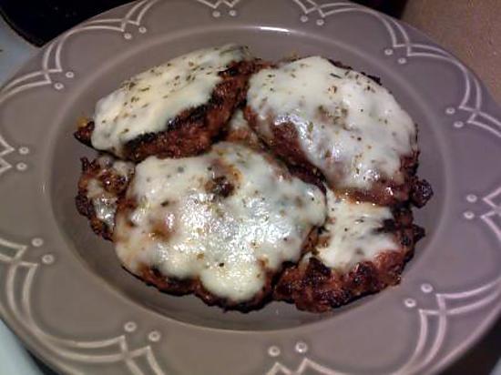 recette Steaks hachés façon pizza