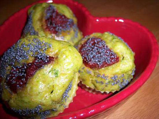 recette ***Moelleux au Pesto de Persil et tomates séchées***