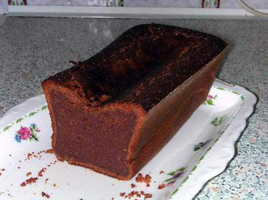 Cake fondant au chocolat au lait