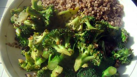 recette Brocoli à la sauce chinoise