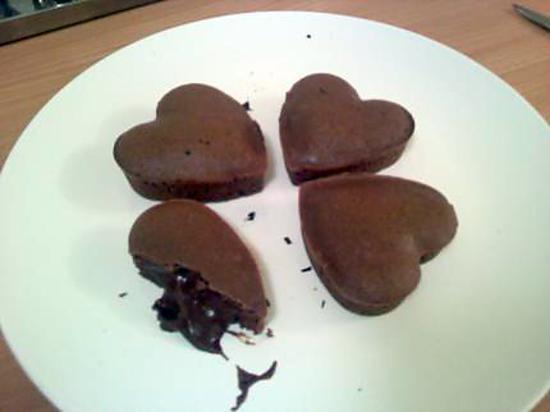recette Coeurs en chocolat