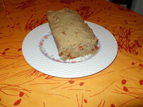 recette de cake sal au thon tomates s ch es basilic sans lactose. Black Bedroom Furniture Sets. Home Design Ideas
