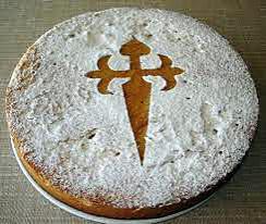 recette tarta de santiago (tarte aux amandes)