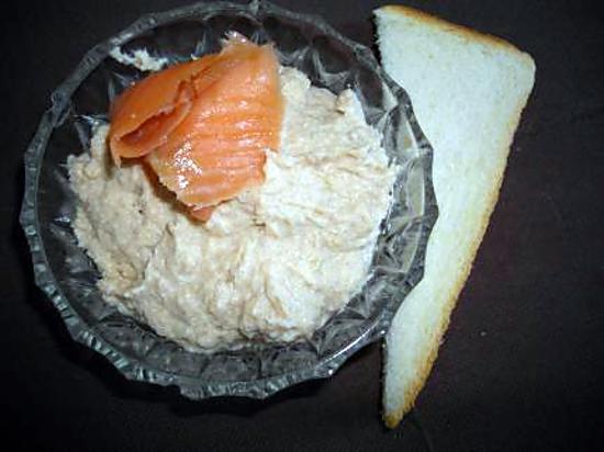 recette Mousse aux 2 saumons