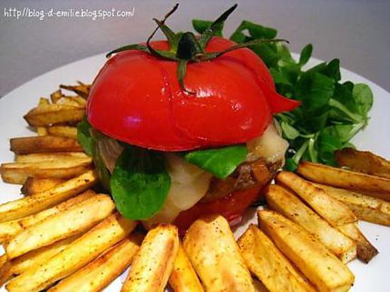 recette Burger sain