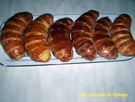 recette petits pains briochés