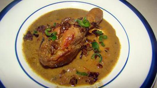 recette Curry de poulet de Singapour