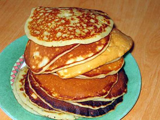 recette Pancake au lait ribot