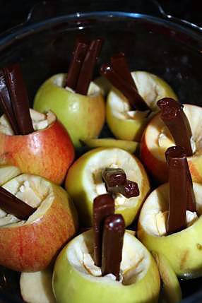 recette Pommes au four au carambar