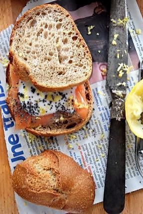 recette de le sandwich la jamie oliver. Black Bedroom Furniture Sets. Home Design Ideas