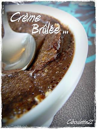 recette Crème Brûlée au Chocolat Noir Recette de Pierre Hermé
