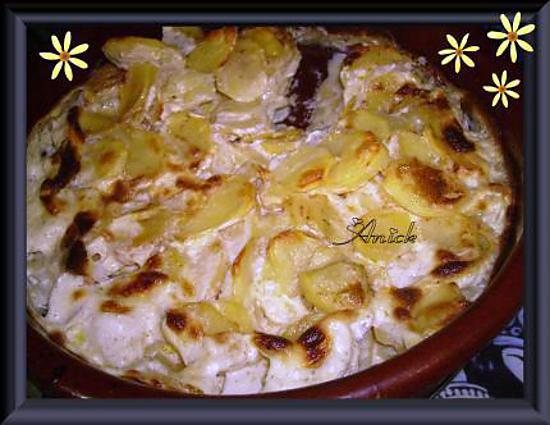 recette de vrai gratin dauphinois. Black Bedroom Furniture Sets. Home Design Ideas