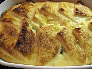 "recette Pudding Anglais ""Bread and butter"""