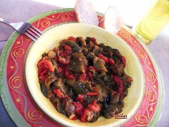 recette Ratatouille De Poivron (Felfla Mechouia)