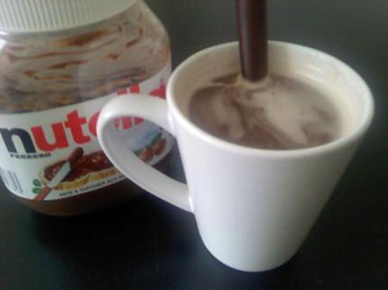 recette Chocolat chaud au Nutella, ASTUCE !!