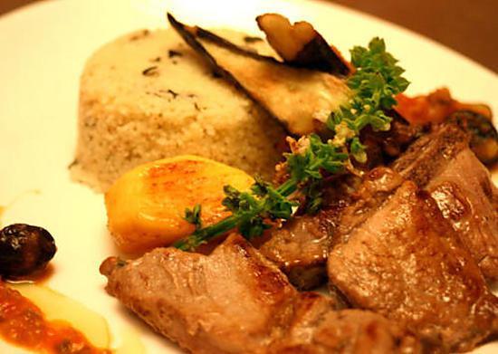 recette Porc à l'Andalouse à ma façon