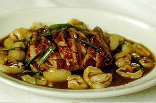 recette Magret de canard aux letchis