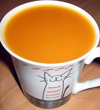 Recette de soupe potiron chicor e liquide - Soupe potiron cocotte minute ...