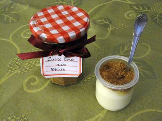 recette sucre coco aux épices