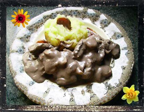 recette civet de biche façon sauce grand veneur