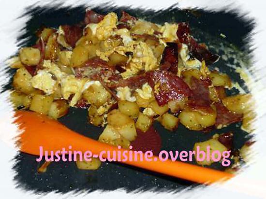 recette Sautée de pomme de terre au chorizo